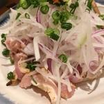 ぼっけもん - 鶏タタキはポン酢で(450円)