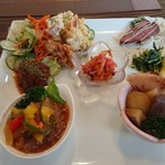 ロハスカフェ - 料理写真:ランチ 1,080円