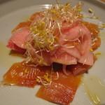 104083891 - 桜マスと根菜