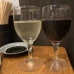 もつ焼き やまと - ワイン