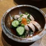 日本酒と個室居酒屋 農家の慶 - あん肝ポン酢