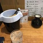とんこつ亭 ひろみちゃん - 焼酎二合!