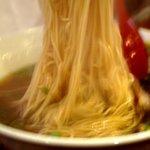 皇蘭 - 麺は細い