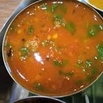 ボンベイ - ラッサム(トマトとコショウ入りのスープ)
