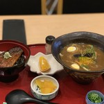 玉川 - カレーうどんとうな丼