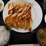 104095434 - 『ぎょうざ定食15ピース』(税込み1280円)