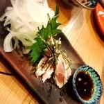 琉球 神鶏 - 鶏刺し