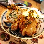 琉球 神鶏 - かりふわ豚餃子
