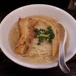 麺堂稲葉Kuki Style - 真鯛の塩らーめん800円