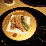大江 - 季節野菜の天麩羅