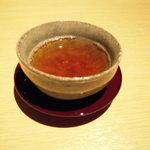 大江 - お茶が出て