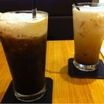 10410798 - アイスコーヒーとアイスカフェオレ