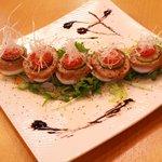 オリオン食堂 - 鶏チャーシューと茹で卵