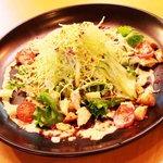 オリオン食堂 - パリパリごぼうのシーザーサラダ