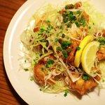 オリオン食堂 - 鶏のから揚げ 油淋ソース