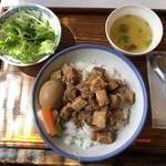 104100798 - 魯肉飯セット