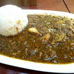かえる食堂 - 料理写真:黒担々カレー