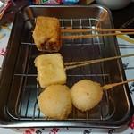 104102445 - 玉子焼、チーズ、もち