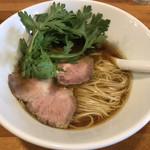 極汁美麺 umami - 料理写真:地鶏醤油  850円(税込)
