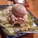 海鮮酒場 魚波 - ポテトサラダ