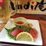 インディ庵 - 料理写真:和歌山ビンチョウマグロお刺身