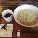 あるがまま舎の蕎麦&カフェ - 料理写真:釜揚げ蕎麦