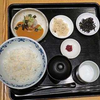 鯛茶福乃 - 料理写真:福乃 鯛茶漬け