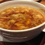 104111228 - 「カレーちゃーしゅーつけ麺」のつけ汁