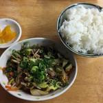 壱番亭 - ミニホルモン定食