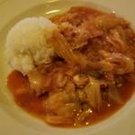 104114760 - ひき肉とキャベツのトマト煮
