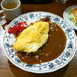 みつざわキッチン - オムカレー ¥750