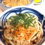 萬福 - 親子丼と半玉うどんのセット(丼の価格に+150円)