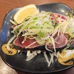 寿司みなと - 料理写真:2019年3月 カツオのたたき(440円)