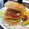 バーガーハウス のみなる - 料理写真:カリカリチーズバーガー \1200