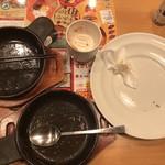 ガスト - 山盛りポテトフライ 215円 クーポン       チキントマトオーブン焼き 323円       ほうれん草ベーコン 215円