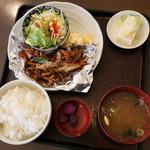 祥 - 料理写真:本日のランチ 焼肉 780円