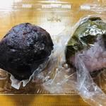深川 伊勢屋 - 春のぼた餅と道明寺の桜餅