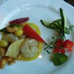 盤古殿 - 【海鮮】カシュナッツと海老の炒め