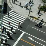 盤古殿 - 永代通りと中央通りの日本橋交差点