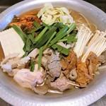 冷麺館 - 料理写真:ホルモンミックス鍋