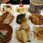 馳走三昧 - 和洋中のお料理色々、茶碗蒸し