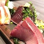104134495 - 鮮魚のお造り六種盛り