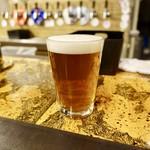 新潟駅クラフトビール館 - [2019/02]胎内高原ビール・吟米IPA・ハーフパイント(500円)