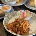 モグモグ カフェ - トマトスパゲティ