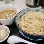 自家製麺つけそば 九六 - 特製つけそば(980円)※麺大盛り