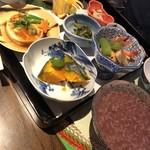 104136593 - 黒米お粥定食