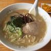 竜園 - 料理写真:とんこつラーメン(チャーハンセット)
