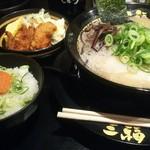 豚骨ラーメン 三福 - 料理写真: