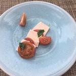 104143900 - オードブル(トマトとトマト豆腐)