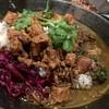 中華料理 八戒 - 料理写真:大海老とほうれん草のほろほろ鳥出汁カレー 魯肉トッピング